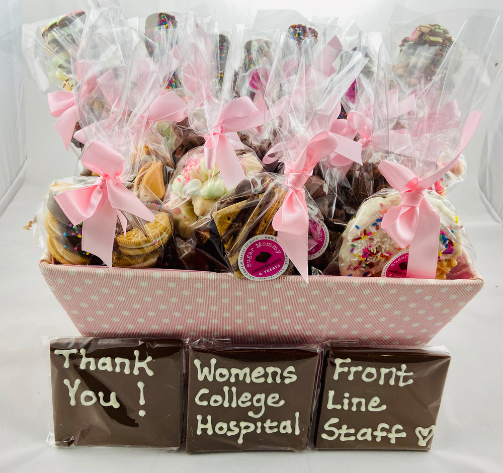 Thank You Frontline Workers Basket