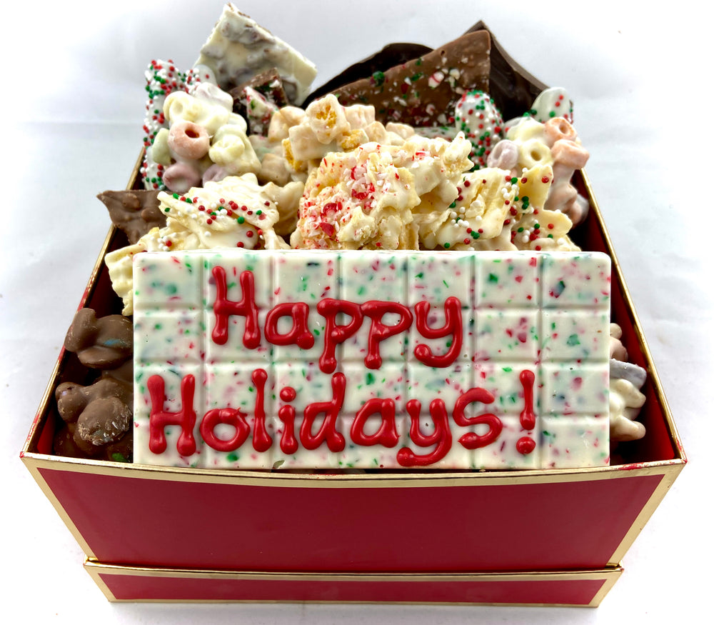 Festive Holiday Box- Large
