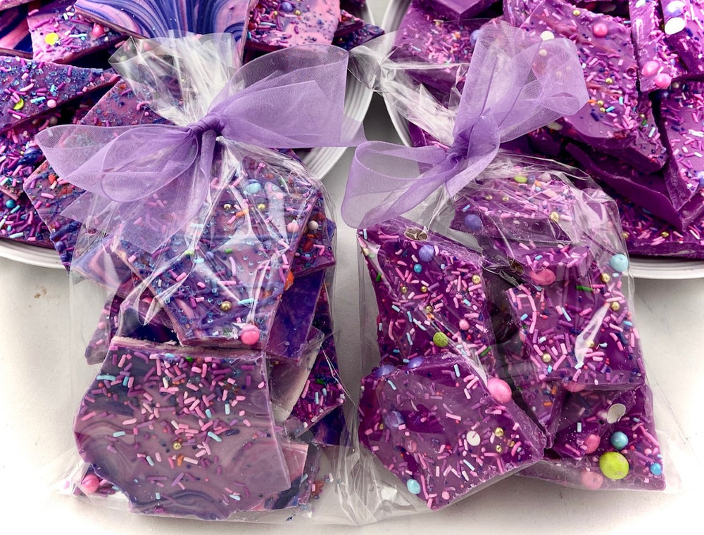 Unicorn Bark Chocolate Treat Bags