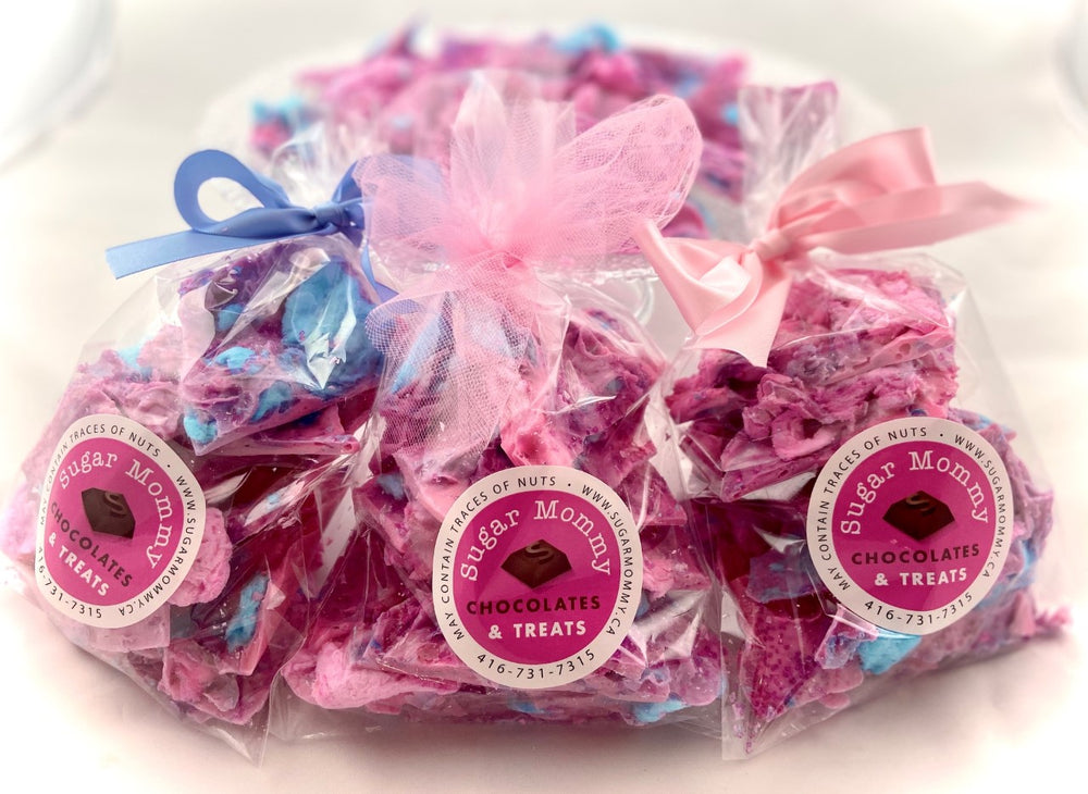 Candy Floss Carnival Bark - Chocolate Treat Bags
