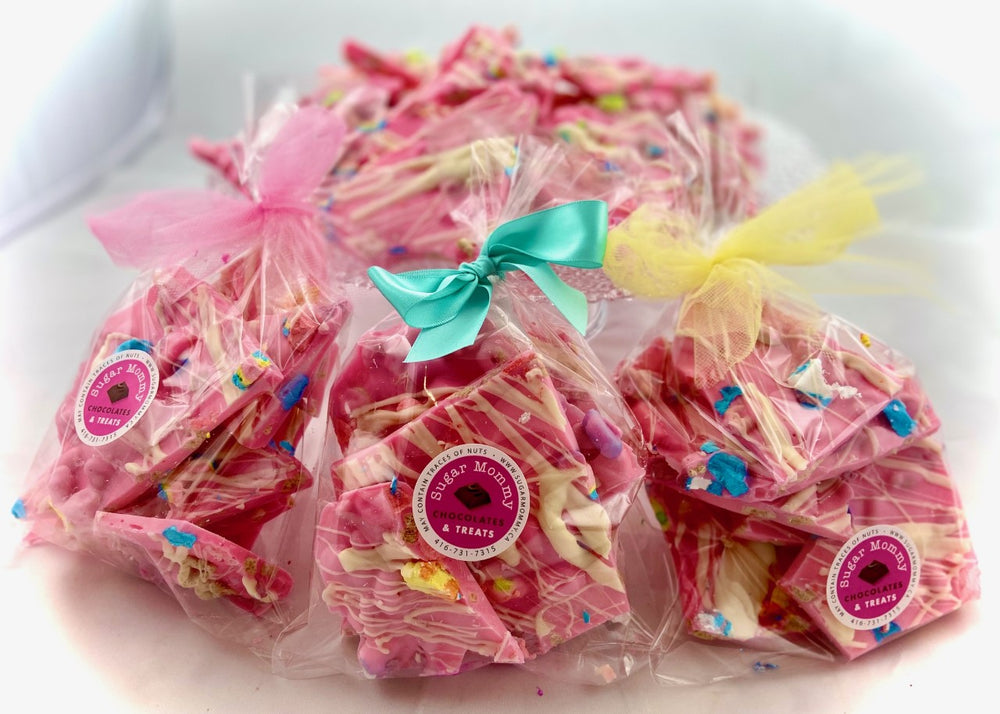 Pretty in Pink - Lucky Charms  Bark Chocolate Treat Bags