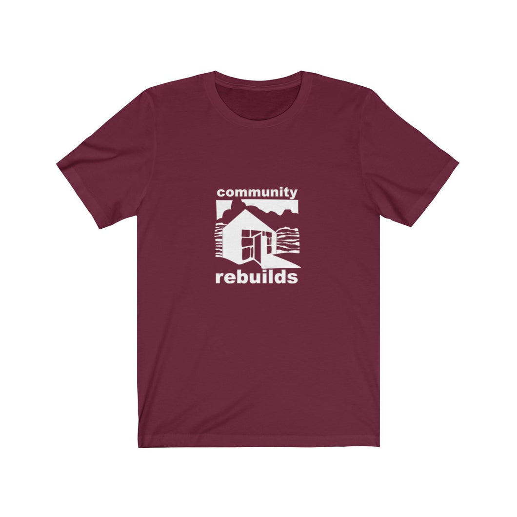 Community Rebuilds Logo Tee