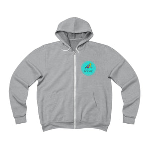 Unisex Sponge Fleece Full-Zip Hoodie