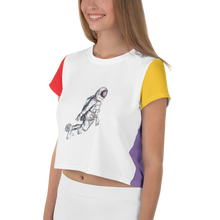 Load image into Gallery viewer, ASTRONAUT Crop Tee