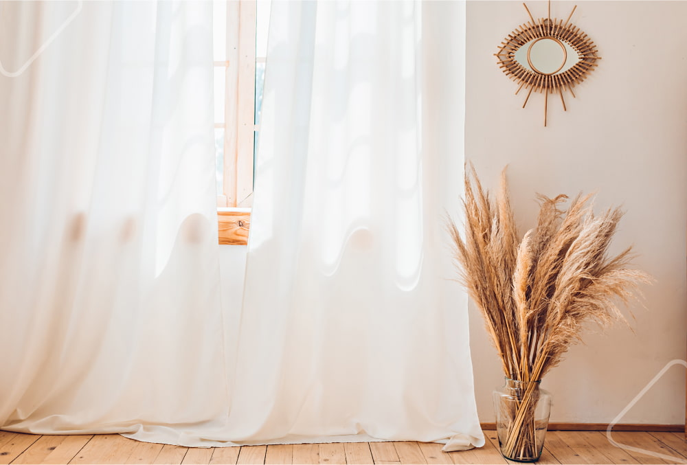 fabric for window curtains