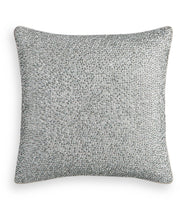 "Load image into Gallery viewer, Hotel Collection Dimensional Beaded 18"" Square Decorative Pillow"