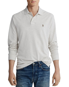POLO RALPH LAUREN - Men's Classic Fit Long Sleeve Mesh Polo