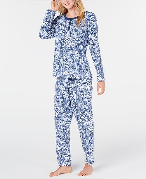 Super Soft Textured Fleece Pajamas