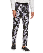 Load image into Gallery viewer, INC INTERNATIONAL CONCEPTS - Men's Slim-Fit Floral Jacquard Pants