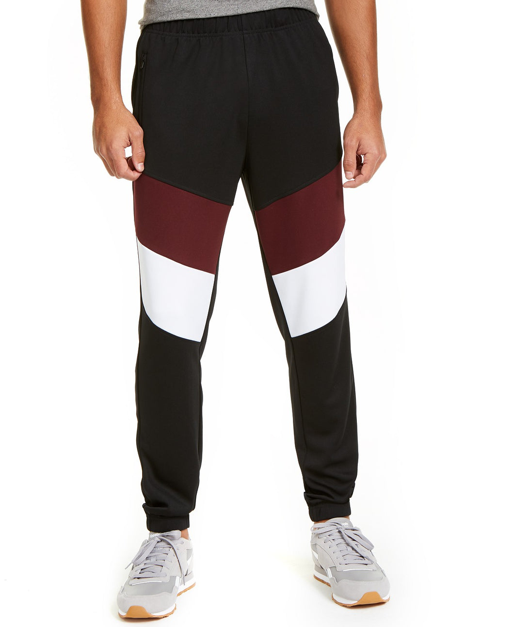 ID - Men's Color-blocked Track Pants