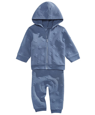 First Impressions Baby Boys 2-Pc. Star Hoodie & Jogger Pants Set