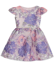 Load image into Gallery viewer, Rare Editions Toddler Girls Floral Burnout Dress