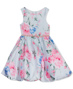 Rare Editions Toddler Girls Mikado Bubble Dress