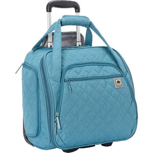 DELSEY - Quilted Rolling Underseat Tote Carry-on