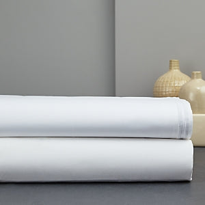 Italian Percale King Flat Sheet