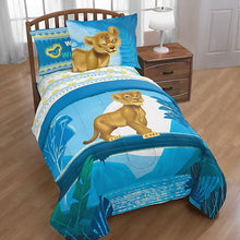 Load image into Gallery viewer, DISNEY - The Lion King Twin/Full Comforter Set