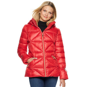NINE WEST - Women's Nine West Quilted Puffer Coat