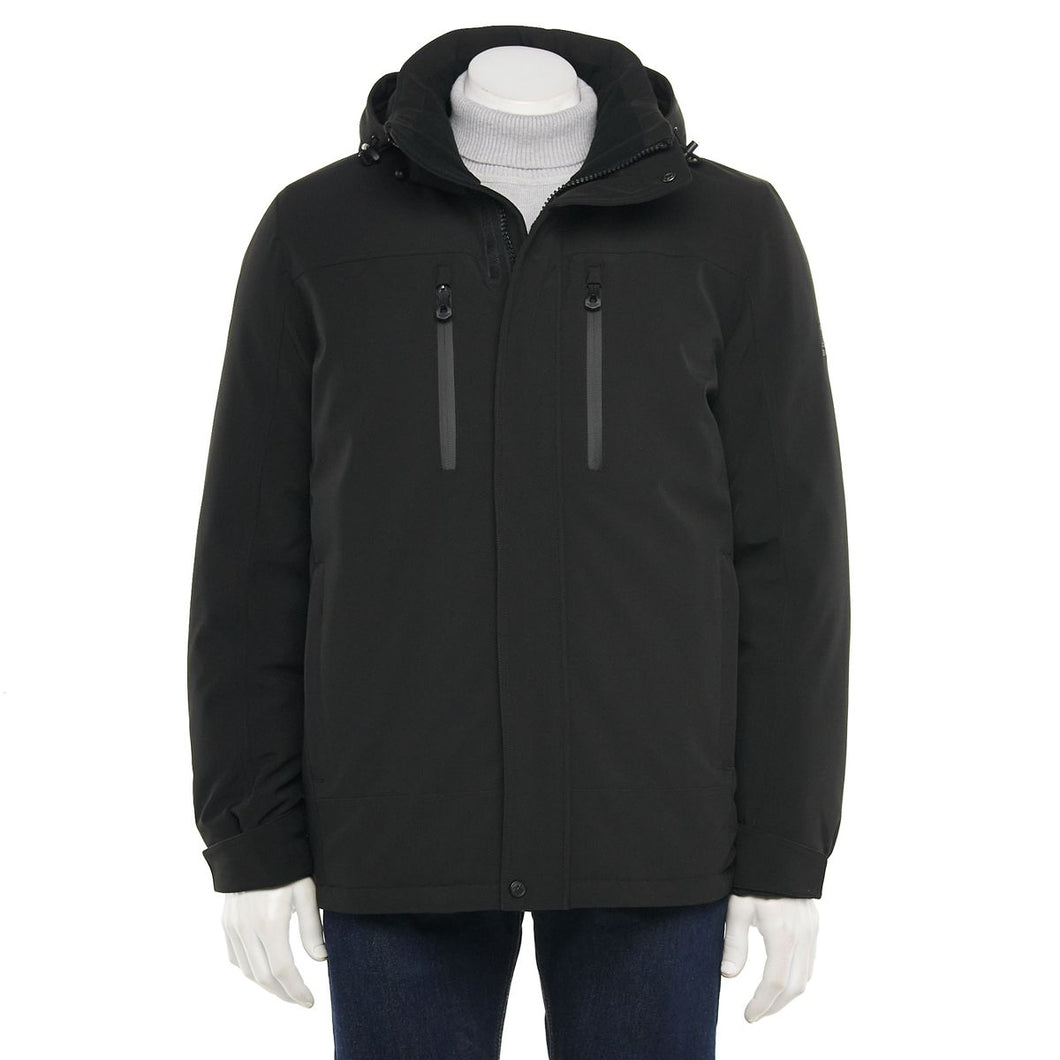 Men's Heavyweight Stretch Hooded Jacket
