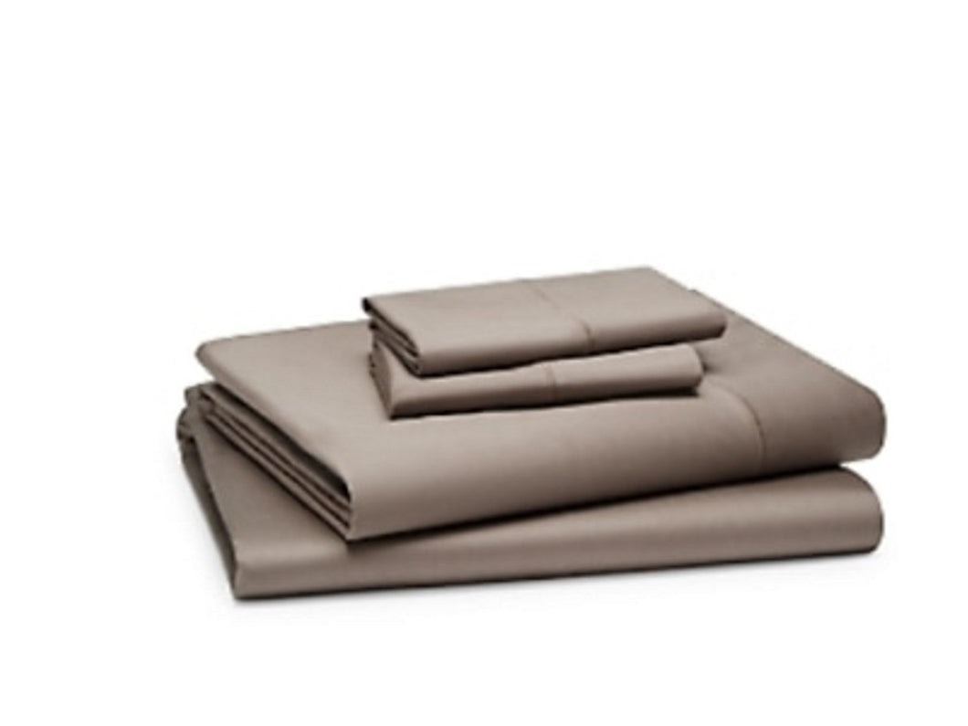 Oake -Twin  Sateen Solid Sheet Set