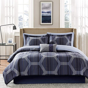 MADISON PARK -  Rincon 9-Pc. California King Comforter Set