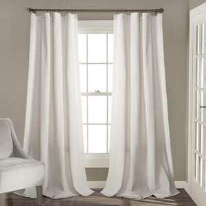 LUSH DECOR - 2-pack Rosalie Window Curtains