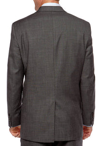 RALPH LAUREN -  Sharkskin Big and Tall Jacket
