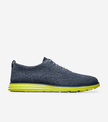 Men's Original Grand Stitchlite Oxfords - Slate Blue/Citron