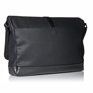 Coated Canvas Messenger Bag