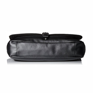 Calvin Klein Coated Canvas Messenger Bag Black