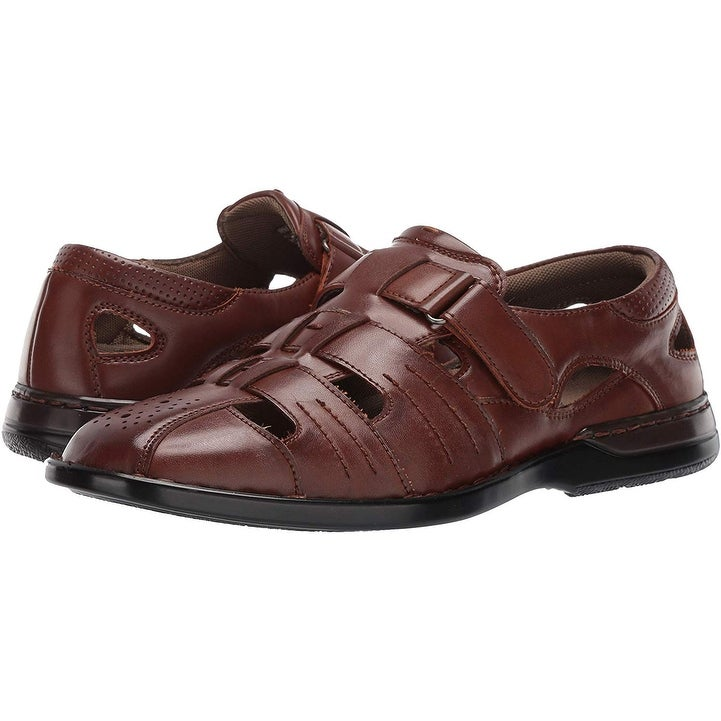 STACY ADAMS - Men's Argosy Closed-Toe Fisherman Sandal