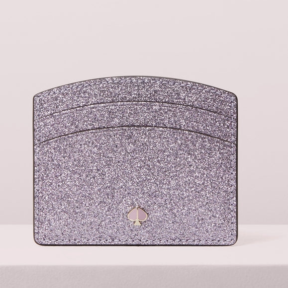 Kate Spade New York Burgess Court Card Holder - Lilac/Gold