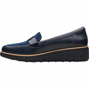 Women's Clarks Suede Loafers