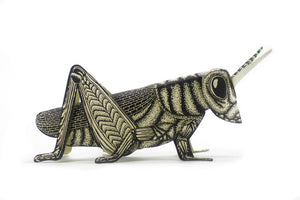 Grasshopper Paper Sculpture
