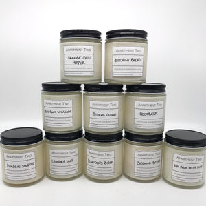 Hand Poured Soy Candle - 4 oz