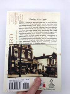 Wheeling Vintage Postcards Book
