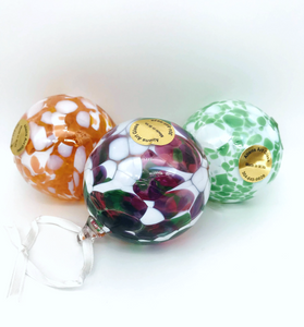 Hand Crafted Glass Ornaments - Assorted
