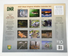 Load image into Gallery viewer, WV Wildlife 2021 Calendar