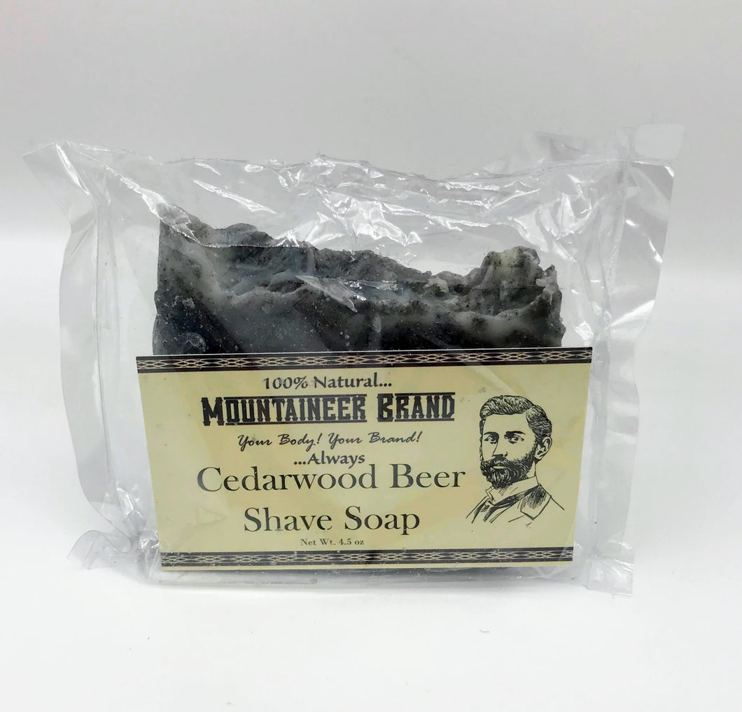Mountaineer Beer Shave Bar Soap