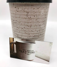 Load image into Gallery viewer, Hand Crafted Ceramic Speckled Clay Travel Mug