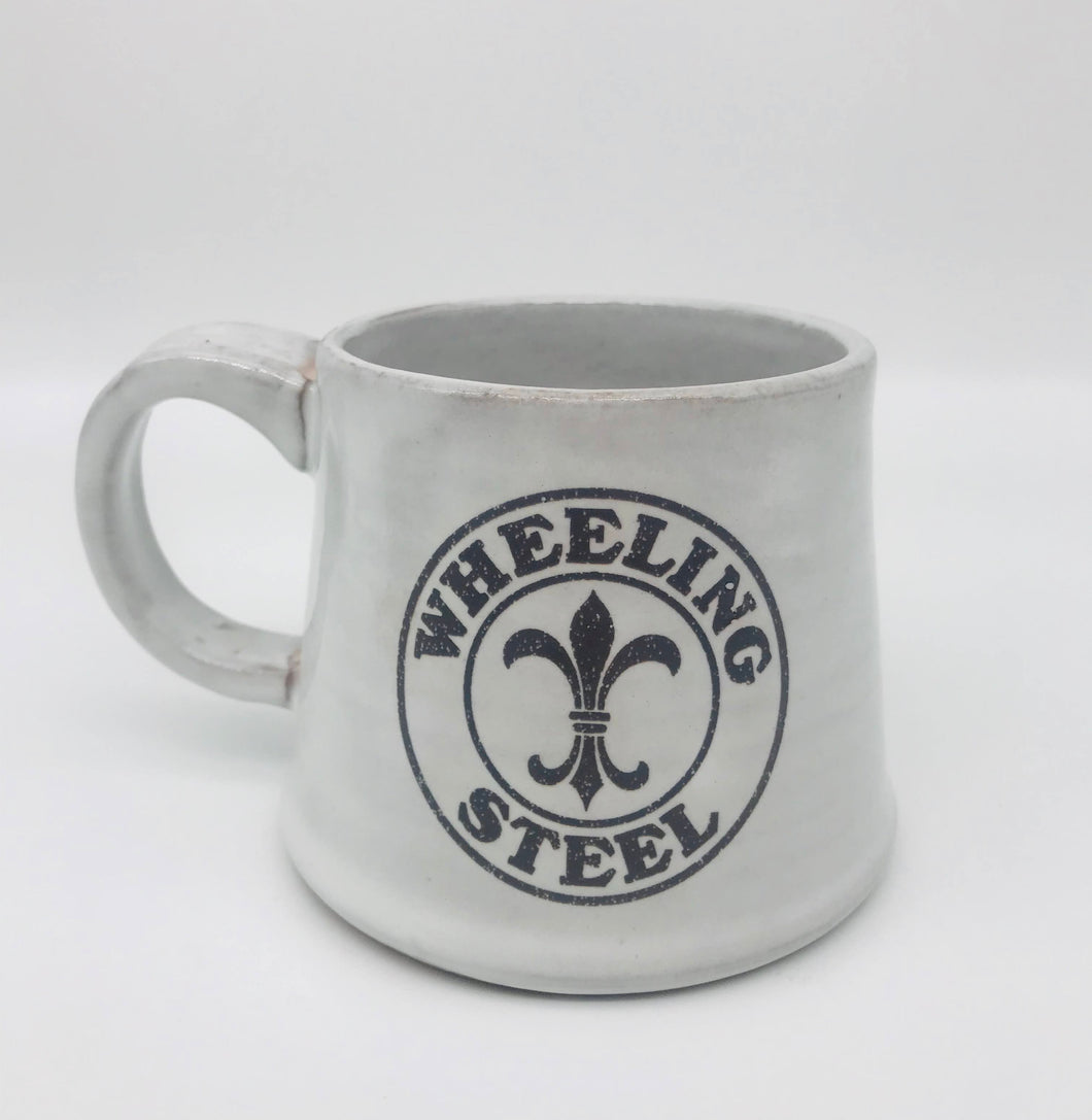 Hand Crafted Wheeling Steel Mug