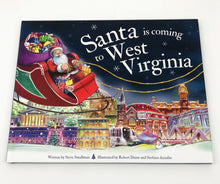 Load image into Gallery viewer, Santa Is Coming to West Virginia Children's Book