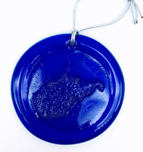 Load image into Gallery viewer, Blenko WV Suncatcher, Cobalt, 3""