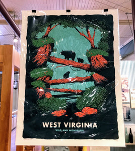 WV Bears Screenprint