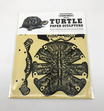 Load image into Gallery viewer, Turtle Paper Sculpture