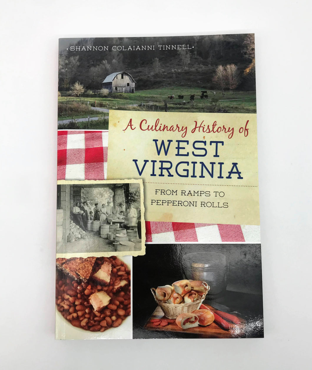 Culinary History of West Virginia Book