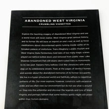 Load image into Gallery viewer, Abandoned West Virginia Book