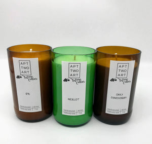 Hand Poured Soy Candle - Wine Cellar Series