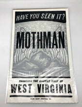 Load image into Gallery viewer, Base Camp Mothman Print - 11x17