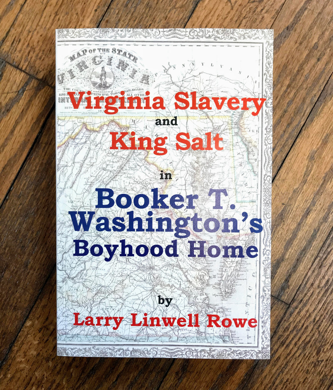 Virginia Slavery and King Salt Book