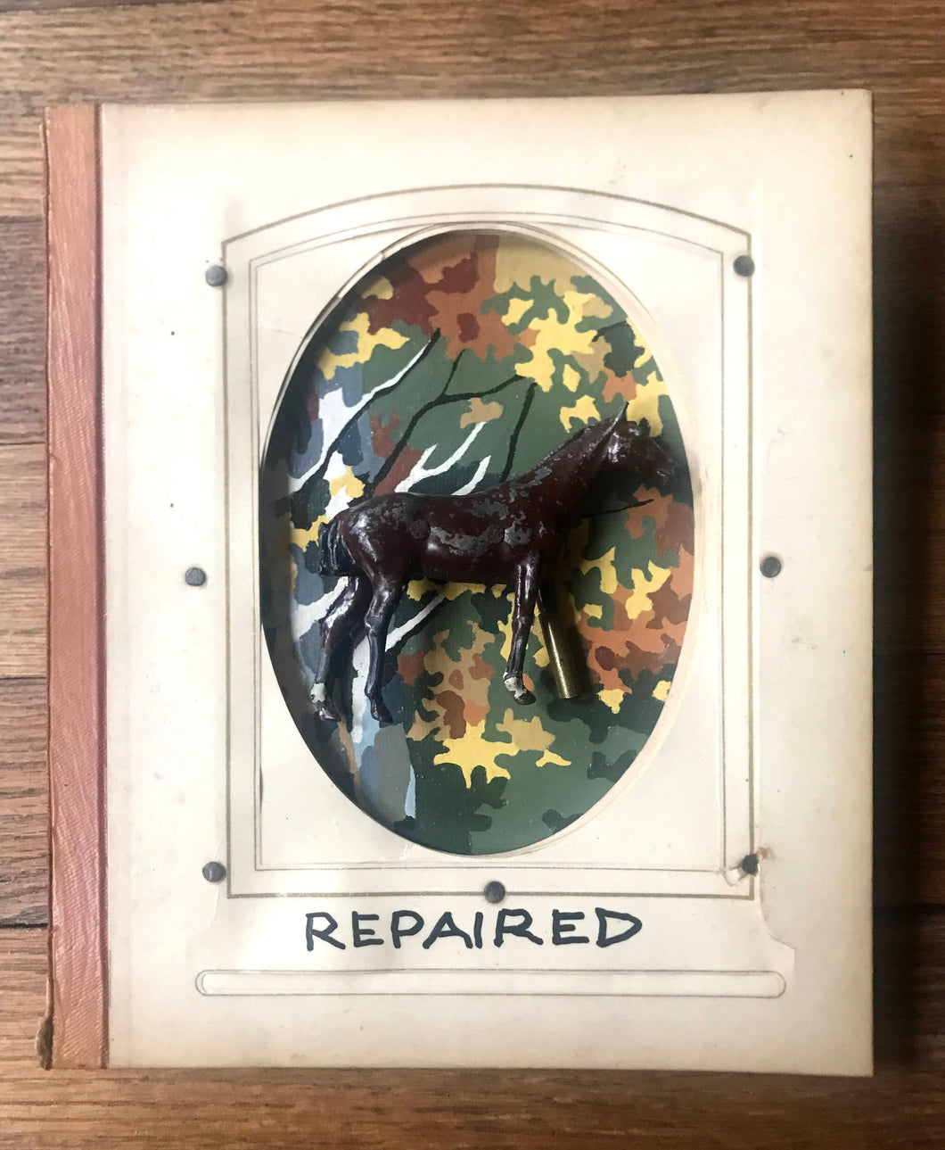 Repaired - Original Tin Artwork